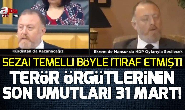Terör sevici HDP Eş Genel Başkanı Sezai Temelli'nin ittifak itirafları!