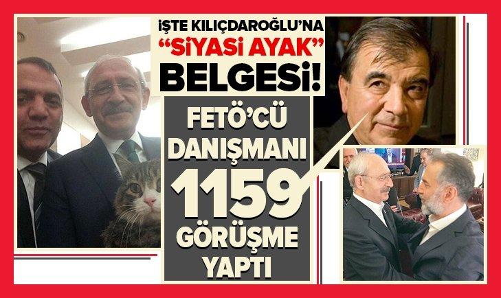 ALTAYLI İLE KILIÇDAROĞLU'NUN DANIŞMANI BİN 159 KEZ GÖRÜŞTÜ!