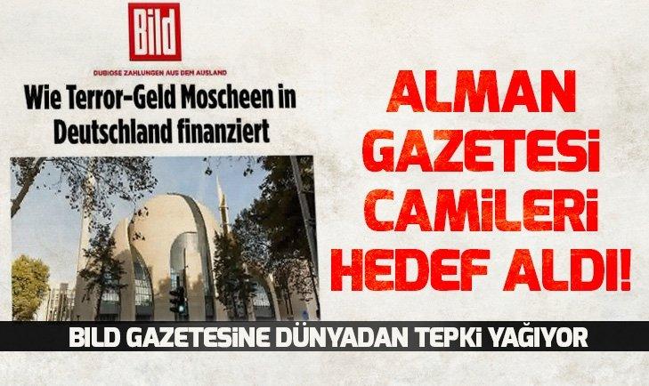 Alman Bild gazetesi camileri hedef aldı