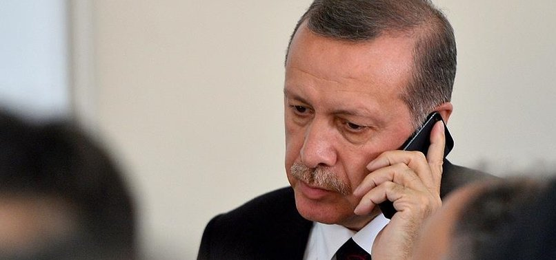 ERDOĞAN'DAN ZELENSKİY'E TEBRİK TELEFONU