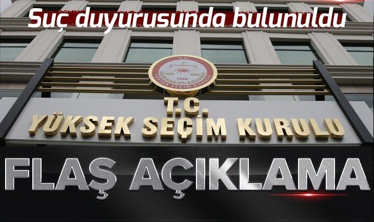 Son dakika... YSK'dan İstanbul açıklaması