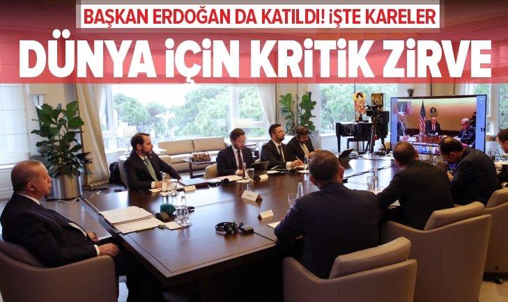 Dünya için kritik toplantı!