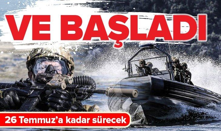 AYYILDIZ-2019 TATBİKATI BAŞLADI