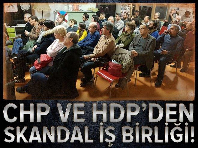 CHP VE HDP'DEN BERLİN'DE SKANDAL İŞ BİRLİĞİ
