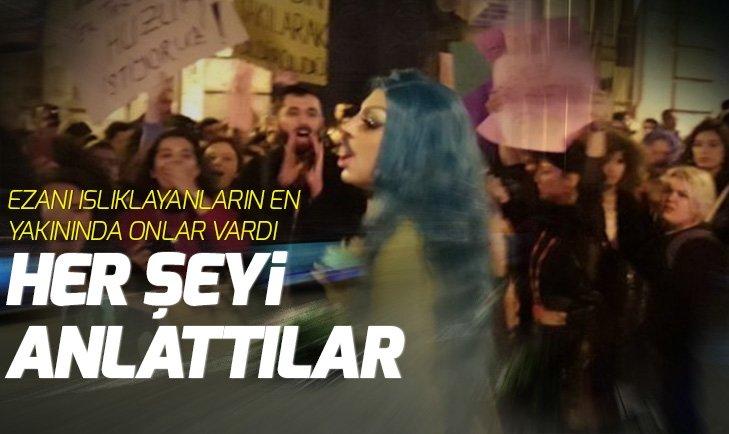 Taksim esnafı: Ezan okunduğu zaman sesler ve çığlıklar yükseldi, ezan bastırılmaya çalışıldı