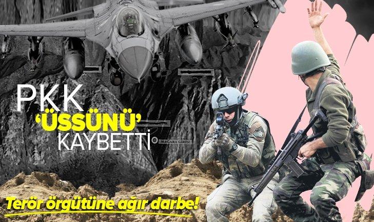 PKK üssünü kaybetti