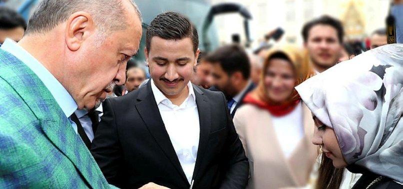 BAŞKAN ERDOĞAN'DAN15 TEMMUZ GAZİSİNE JEST