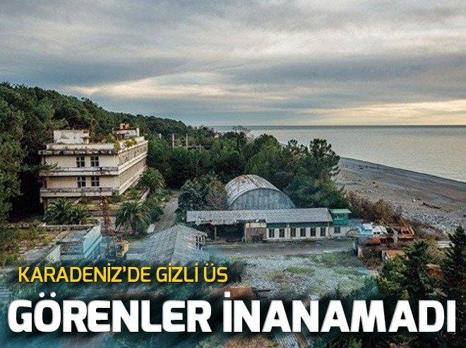 KARADENİZ'DE GİZLİ ÜS!