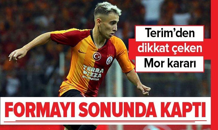 FATİH TERİM'DEN DİKKAT ÇEKEN EMRE MOR KARARI!