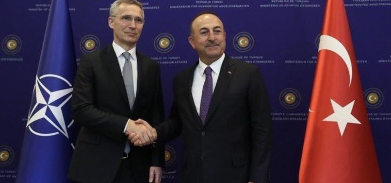 ÇAVUŞOĞLU, NATO GENEL SEKRETERİ İLE GÖRÜŞTÜ