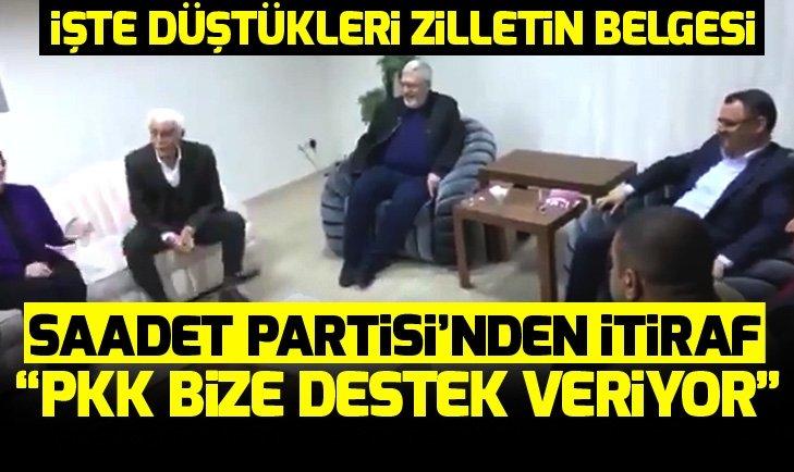 Saadet Partisi Şanlıurfa adayı Sabahattin Cevheri: PKK bize destek veriyor!