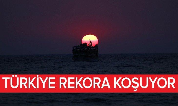 TÜRKİYE REKORA KOŞUYOR!