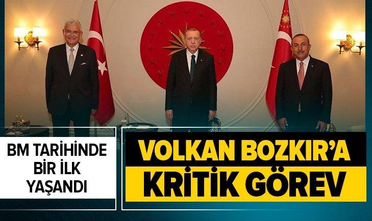 Volkan Bozkır'a BM'den kritik görev