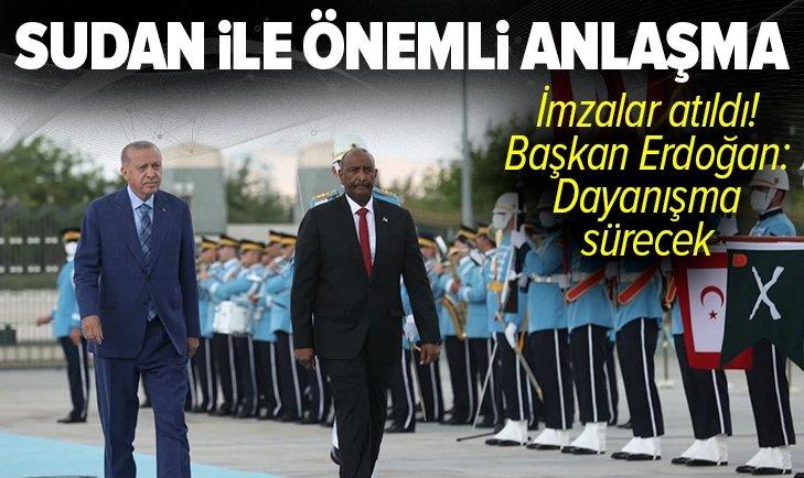 Son dakika: Başkan Erdoğan ve Sudan Egemenlik Konseyi Başkanı Orgeneral Abdulfettah El-Burhan'dan flaş açıklamalar