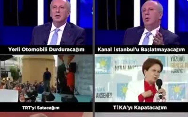 'Proje' muhalefetin Türkiye'yi eski günlere döndürmekten başka projesi yok