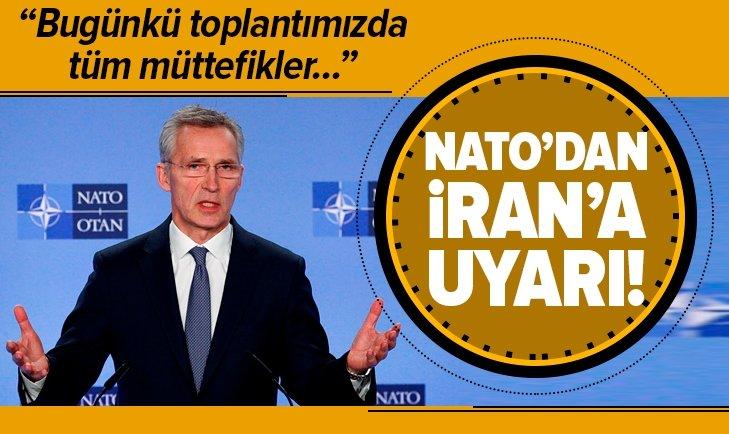 NATO Genel Sekreteri'nden İran açıklaması