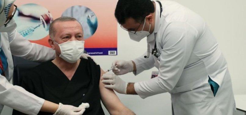 Son dakika: Başkan Erdoğan Kovid-19 aşısı oldu ve Telegram'dan mesaj paylaştı