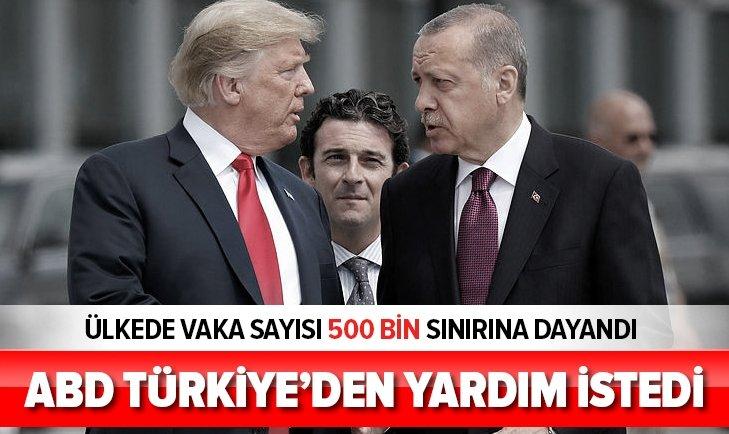 ABD TÜRKİYE'DEN YARDIM İSTEDİ!