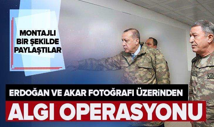 ERDOĞAN VE AKAR FOTOĞRAFI ÜZERİNDEN ALGI OPERASYONU!