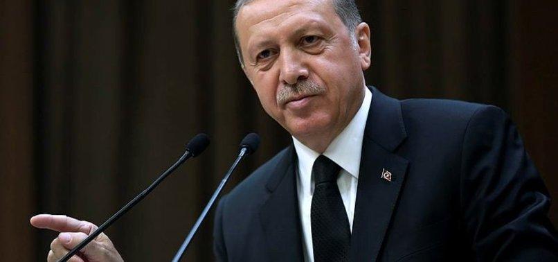 ERDOĞAN, ANKARA ÜNİVERSİTESİ REKTÖRÜ PROF. DR. İBİŞ'İ KABUL ETTİ