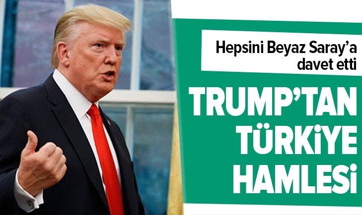 TRUMP'TAN KRİTİK TÜRKİYE HAMLESİ!