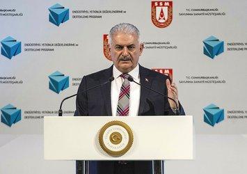 Başbakan Binali Yıldırım: Afrin harekatının kaderini İHA'lar değiştirdi