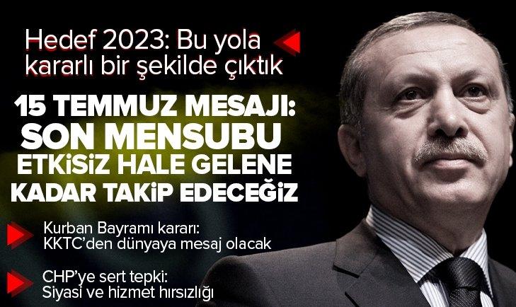 Son dakika: AK Parti Grup Toplantısı | Başkan Erdoğan'dan 2023 mesajı: Bu yola kararlı bir şekilde çıktık