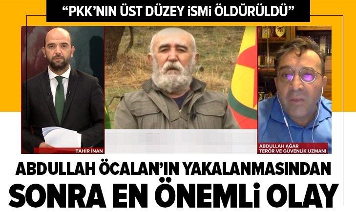 Terör ve Güvenlik Uzmanı Abdullah Ağar: PKK'ı Ali Haydar Kaytan İHA'lar tarafından öldürüldü   Ali Haydar Kaytan kimdir?