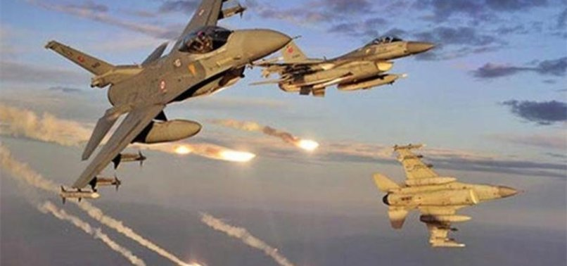 KUZEY IRAK'A HAVA HAREKATI! HEDEFLER YOK EDİLDİ