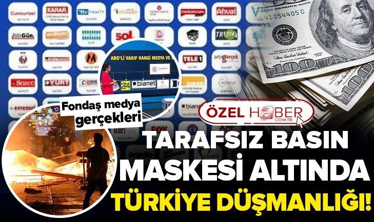 Fonlanan medya gerçeği ne? Tarafsız basın maskesi altında Türkiye düşmanlığı! Medya Derneği Başkanı Ekrem Kızıltaş A Haber'de yorumladı