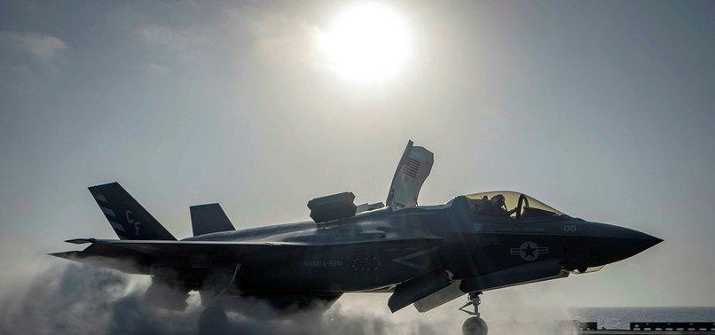 ABD'DE F-35B SAVAŞ UÇAĞI DÜŞTÜ
