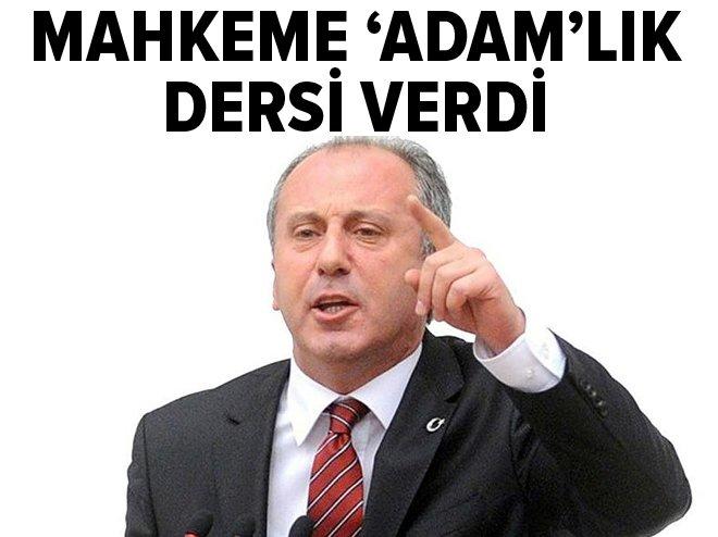 CHP'Lİ İNCE'YE 10 BİN LİRA TAZMİNAT ŞOKU