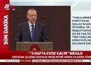 Son dakika haberi... Başkan Erdoğan koronavirüs kovid-19 toplantısı sonrası alınan kararları açıkladı  Video