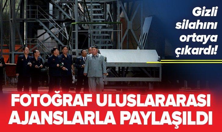 KİM JONG-UN GİZLİ SİLAHINI ORTAYA ÇIKARDI!