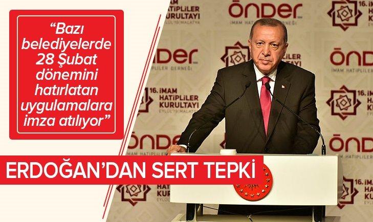 Erdoğan, İmam Hatipliler Buluşması'na katıldı