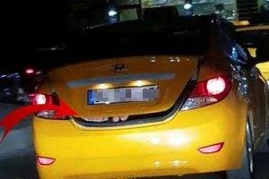 İstanbul trafiğinde şaşkına çeviren görüntü! Koltuğa sığmayınca...