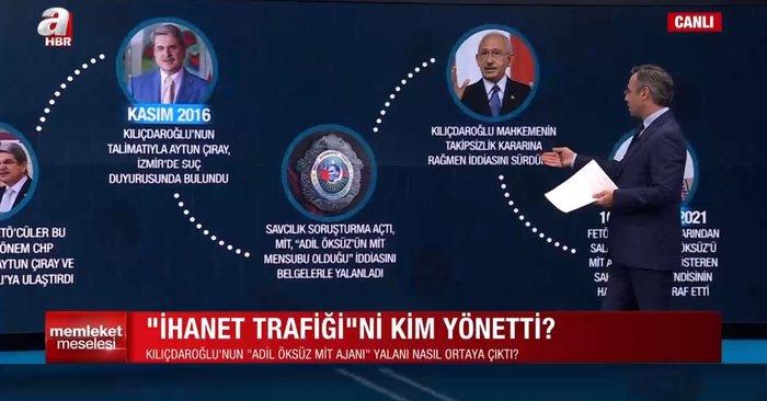 İhanet trafiğini kim yönetti? CHP FETÖ'nün 'Adil Öksüz' yalanına nasıl ortak oldu? A Haber'de flaş sözler 14