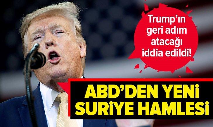 ABD'DEN YENİ SURİYE HAMLESİ!