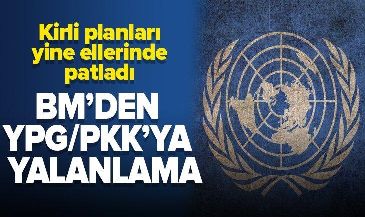BM'DEN YPG/PKK'NIN MANİPÜLASYONLARINA YALANLAMA