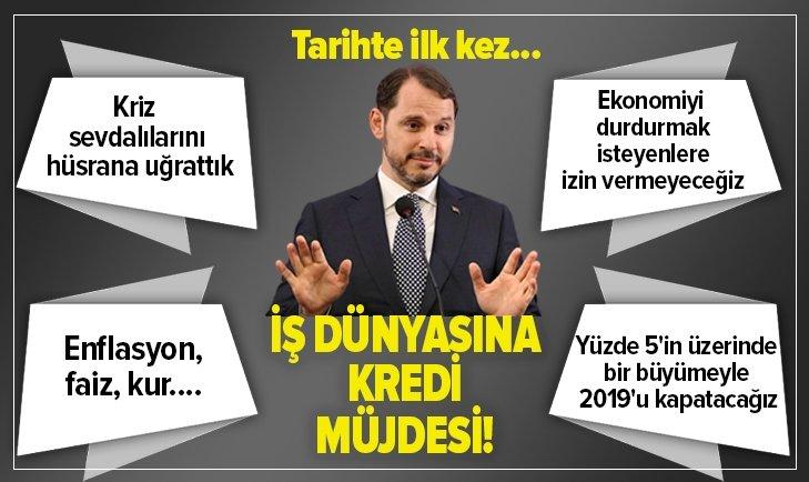 BAKAN ALBAYRAK'TAN GAZİANTEP'TE NET MESAJ