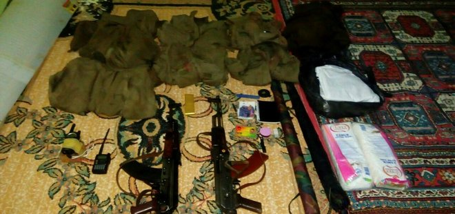 PKK'LI HAİNLER MÜHİMMATI CAMİYE GİZLEMİŞ!