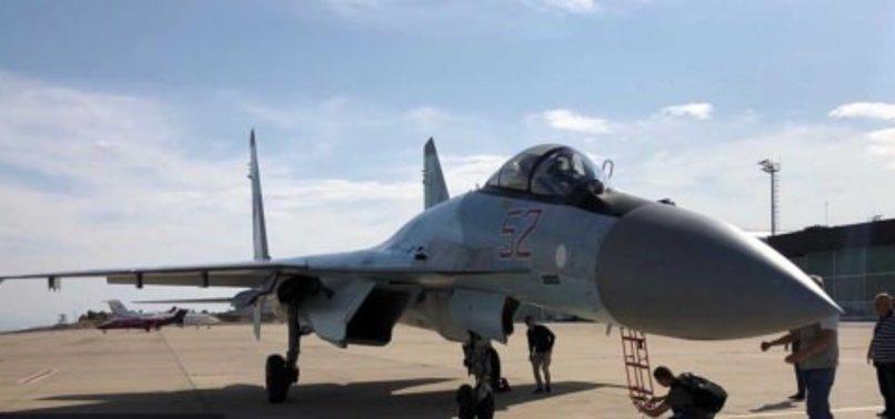 SU-35 SAVAŞ JETİ İSTANBUL'DA