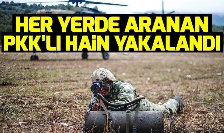 HER YERDE ARANAN PKK'LI HAİN YAKALANDI
