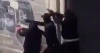 Fransa'da rakip çeteler arasındaki çatışma çıktı
