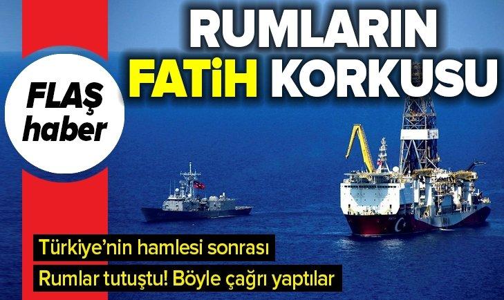 RUMLARIN DOĞU AKDENİZ'DE 'FATİH' KORKUSU