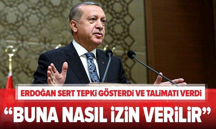 """ERDOĞAN SERT TEPKİ GÖSTERDİ, TALİMATI VERDİ! BUNA NASIL İZİN VERİLİR"""""""