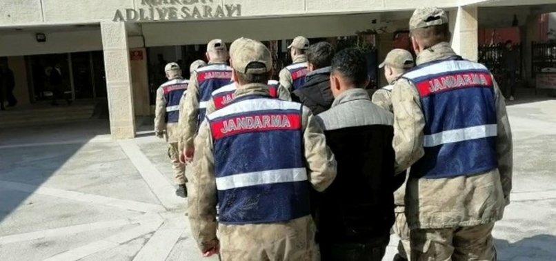 Kaçak olarak Suriye'den Mardin'e giriş yapan PYD'li 5 terörist tutuklandı