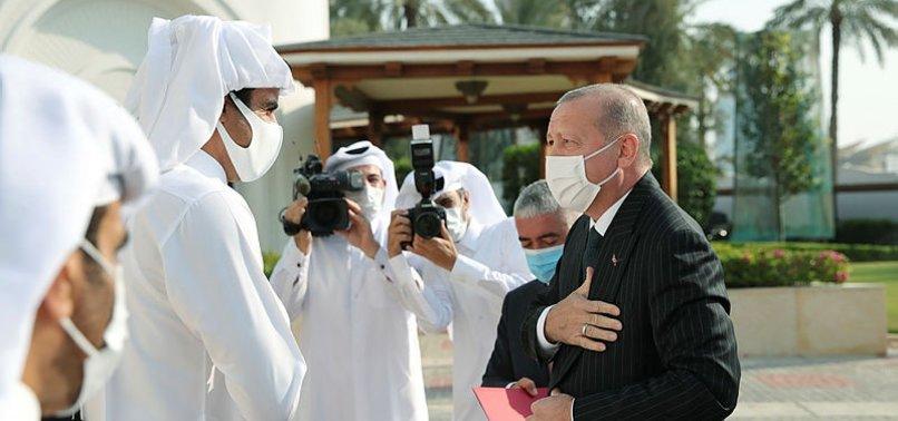 Başkan Erdoğan'ın Katar Emiri Al Sani ile görüşmesi büyük yankı uyandırdı! Stratejik ortaklık vurgusu