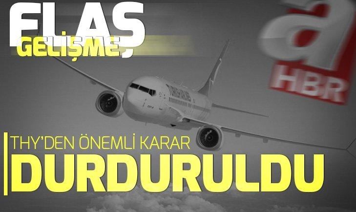 THY'DEN BOEİNG 737 MAX DUYURUSU