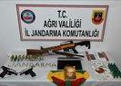 Ağrı'da terör örgütü PKK'ya operasyon: 10 gözaltı
